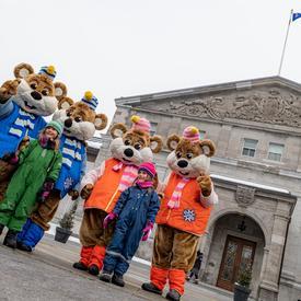 Pour la deuxième année consécutive, la Célébration hivernale a été présentée en partenariat avec le Bal de neige.