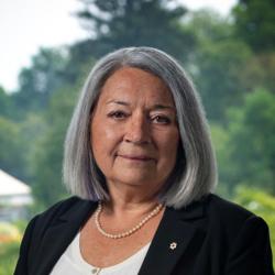 Gouverneure générale Mary May Simon