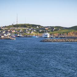 View of the Îles-de-la-Madeleine.