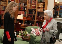 Rencontre avec Sa Majesté la Reine