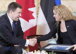 Rencontre avec le premier ministre d'Estonie