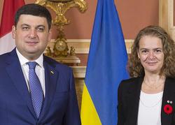 Rencontre avec premier ministre de l'Ukraine