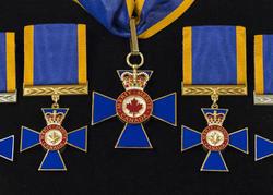 Cérémonie de l'Ordre du mérite militaire