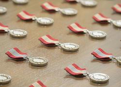 La Médaille du souverain pour les bénévoles