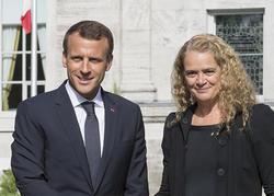 Rencontre avec le président de la France
