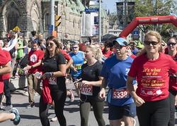 Course de 5 km pour campagne de charité