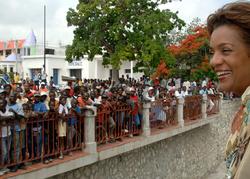 Visite officielle à Haïti