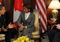 Rencontre avec le président Obama