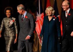 Leurs Altesses Royales à St. John's
