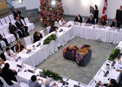 Table ronde à Guatemala