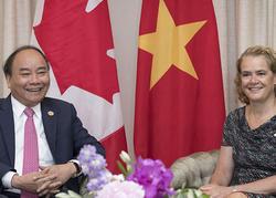 Rencontre avec le premier ministre du Vietnam