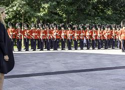 Revue annuelle de la Garde de cérémonie