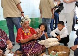 Visite d'un projet rural de l'ACDI