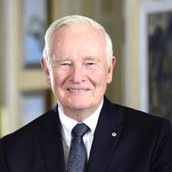 Official photo of Governor General David Johnston