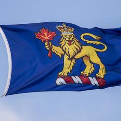 Le drapeau du gouverneur général