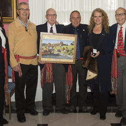 Reception on the 50th anniversary of the 1967 Centennial Voyageur Canoe Pageant