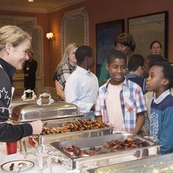 Petit-déjeuner et encan pour La Campagne de charité en milieu de travail du gouvernement du Canada