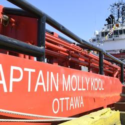 Picture of the Captain Molly Kool boat.