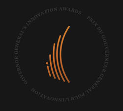 Governor General's Innovation Awards logo.