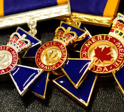 Governor General invests recipients into the Order of Military Merit