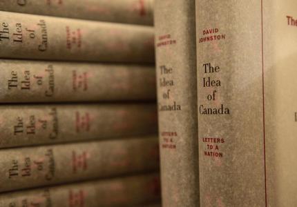 Lancement du livre The Idea of Canada: Letters to a Nation