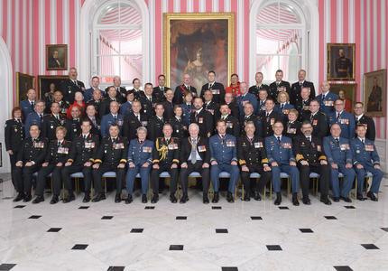 Cérémonie d'investiture de l'Ordre du mérite militaire