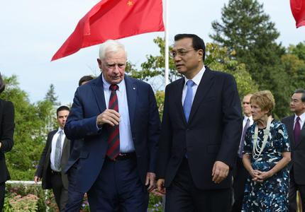 Rencontre avec le premier ministre du Conseil des affaires de l'État de la Chine