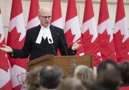 The Honourable Geoff Regan is delivering remarks.
