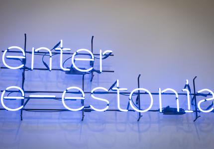 Panneau de E-Estonia.