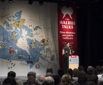 The Walrus Talks national tour stopped in Halifax.