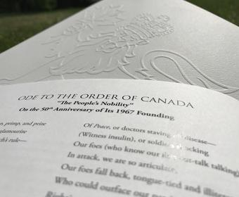 Ode to the Order of Canada